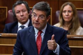 Catalá afirma que en Cataluña se atacan casas de jueces y fiscales