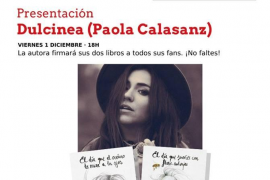Dulcinea presenta su novela en Agapea Palma