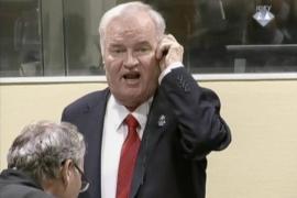Cadena perpetua para Mladic, 'el carnicero de Bosnia' acusado de genocidio