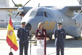 Cospedal resalta la labor del Ejército del Aire en Baleares por defender la seguridad e integridad territorial