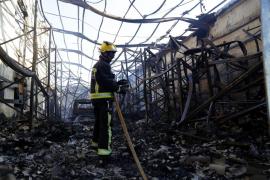La Agrupación de Bomberos de Palma denuncia descoordinación durante el incendio en Marratxí