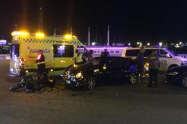Un motorista fallece tras colisionar con un coche en Palma