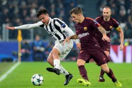 El Barcelona sella su pase como primero de grupo con un empate en Turín