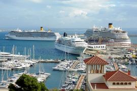 Los cruceros tachan de ilegal la ecotasa y avisan de que Baleares puede caer de las rutas