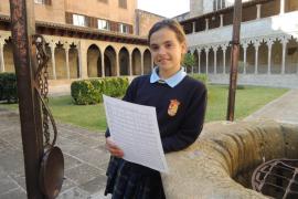 Primera niña Sibil·la en Sant Francesc