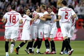 El Sevilla supera al Villarreal y abre la puerta de la Liga de Campeones
