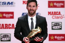 Messi con su cuarta Bota de Oro: «Cada día disfruto más de ser jugador»