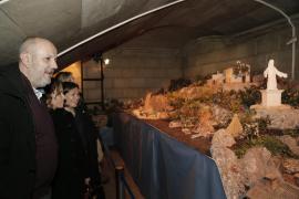 Mensaje político: Miquel Ensenyat proyecta y ayudará a montar personalmente el Belén del Consell