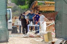 Hallan restos de dos cuerpos humanos en un chalet en obras de Crestatx