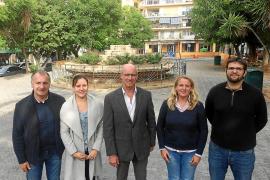 Arranca la rehabilitación de s'Arenal con la reforma, 10 años después, de la plaza central