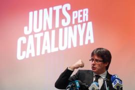 Puigdemont presenta en Brujas la candidatura del JxCat al 21D