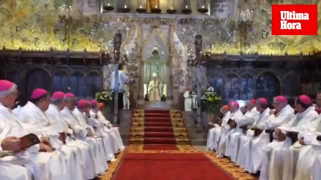 Taltavull toma posesión como obispo de Mallorca