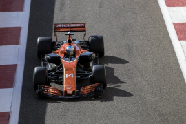 Alonso: «Entre el 10 y el 11 prefiero éste último, para elegir neumáticos»