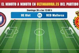 Olot-Real Mallorca, en directo