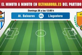 Atlético Baleares-Llagostera, en vivo