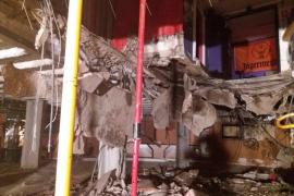 Heridas 40 personas al hundirse el suelo de una discoteca en Tenerife