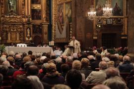 Taltavull inicia en Lluc su ministerio episcopal