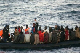 106 personas rescatadas en aguas andaluzas a bordo de tres pateras