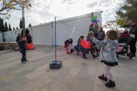 Fiesta infantil en Santa Gertrudis (Fotos: Marcelo Sastre).
