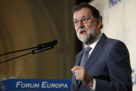 Rajoy ve «absurdo» pretender que Cataluña salga de la UE