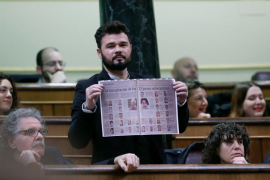 Rufián califica a la Unión Europea de «miserable»