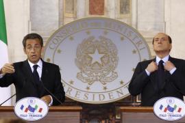 Sarkozy y Berlusconi piden cambios en el Tratado de Schengen para afrontar crisis migratorias