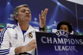 Mou: «Guardiola critica  el acierto del árbitro, nunca lo había visto»
