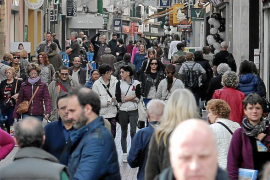 Hoteles, comercios y restaurantes de Palma van a tener el mejor diciembre de su historia
