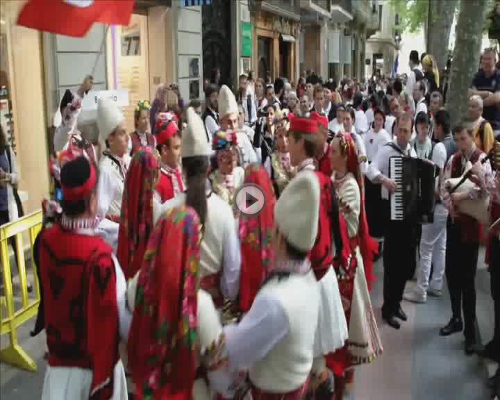 Comienza el XIV Festival Mundial de Danses