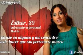 'First dates' presenta a Esther, la participante que puede matar con la mente