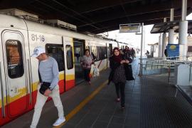 El tren a Manacor y sa Pobla circulará en Nochevieja
