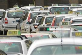 El sector del taxi balear protesta este miércoles contra plataformas como Uber