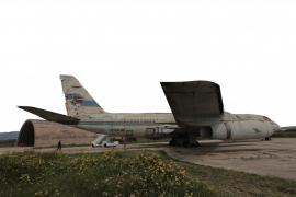 El Consell impulsa la protección del avión 'Coronado' de Spantax abandonado en Son Sant Joan