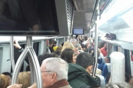Una incidencia en la estación de Marratxí provoca retrasos en los trenes