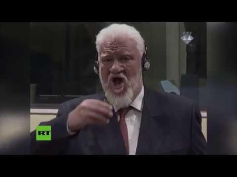 Paralizada una vista en el tribunal de crímenes de guerra para la ex Yugoslavia al «envenenarse» un acusado