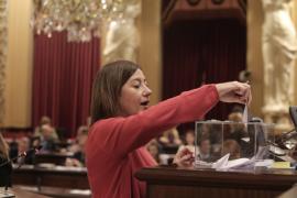 Francina se va a Rubí a la campaña electoral del PSC en pleno 'trauma' del 155