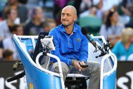 Se retira Pascal Maria, el juez de silla azote de Nadal