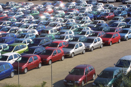 Las emisiones de CO2 de los coches de Balears disminuyen un 2,2%