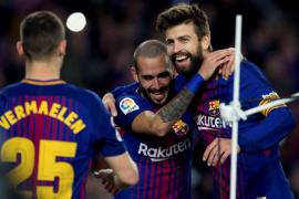 El Barça golea al Murcia y sella el pase a los octavos de final