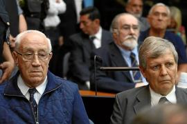 Cinco cadenas perpetuas por los crímenes de la dictadura argentina