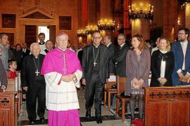 Toma de posesión de Sebastià Taltavull como obispo de Mallorca
