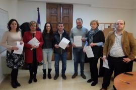 Búger, Felanitx, Lloseta, Consell y Llubí firman un convenio para elaborar su catálogo de caminos públicos