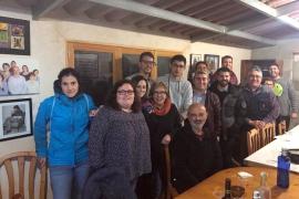 Xisco Bergas, elegido secretario general del PSOE en Santa Margalida