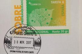 Correos emite un matasellos turístico dedicado a las Cuevas dels Hams de Porto Cristo