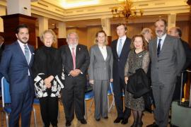 El homenaje al 'capità Barceló' reúne en Palma a la aristocracia mallorquina y menorquina