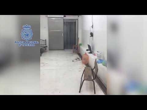 Liberan a dos españoles secuestrados 3 días en una cámara frigorífica