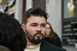 Rufián: «A algunos les encantaría que Junqueras besara la bandera para salir» de la cárcel