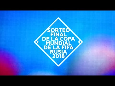 El sorteo del Mundial de Rusia en directo