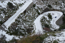Desplome de las temperaturas en toda Mallorca