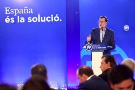 Rajoy dice en Mataró que la solución a «tanto despropósito» ya ha empezado
